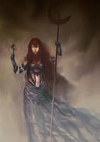 Dark priestess by elbardo
