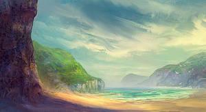 Beach by elbardo