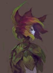 Flower girl by elbardo