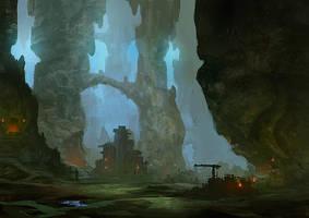 Underground city by elbardo