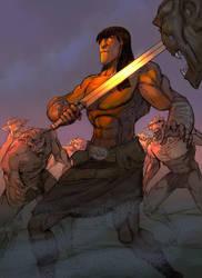 Conan by elbardo