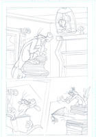 Looney Tunes comic pencil work by DaveAlvarez