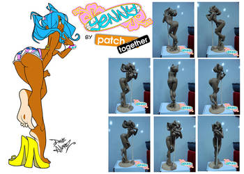 Yenny Statue by Patch Together by DaveAlvarez
