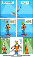 Goofy in How to be an Iron Man Page 2 by DaveAlvarez