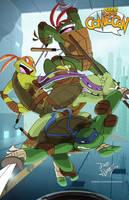 Teenage Mutant Ninja Turtles by DaveAlvarez