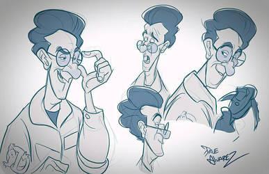 Animated Ghostbusters  by DaveAlvarez