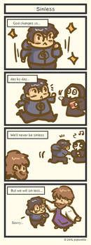 TATcomic: Can we be sinless? by Poporetto