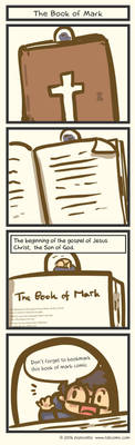 Book Of Mark Comic - Introduction by Poporetto