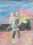 Simba Archer and Nala Kane by MellowSunPanther