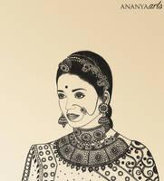 Mughal Empress Jodhaa by AnanyaArts