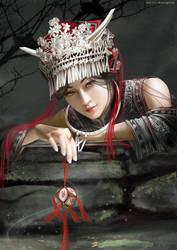 Silver-Ethnic minority by shuangwen