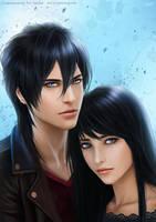 Vayne and Megan by shuangwen