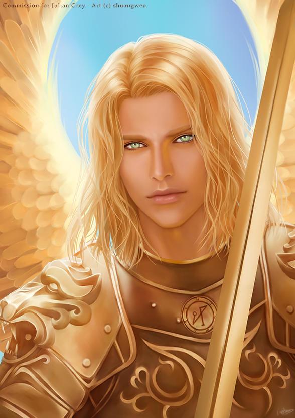 Archangel Michael by shuangwen