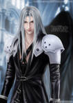 FF7-Sephiroth by shuangwen