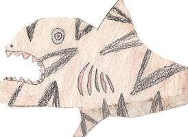 Tiger Shark by Hairk