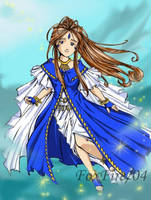Goddess 1st Class Belldandy by foxfire83