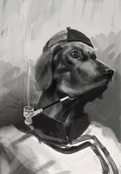 Pan Hu Sketch 02 by cosmodog