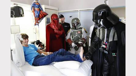 Darth Vader tickling by maleticklingstories