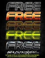 FREE PHOTOSHOP STYLES by Industrykidz