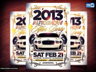 Auto show Flyer by Industrykidz