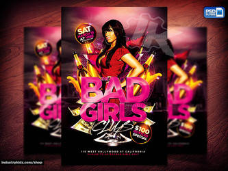 Ladies night Flyer by Industrykidz