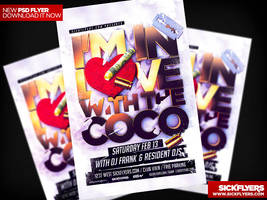 I'M IN LOVE WITH THE COCO FLYER TEMPLATE PSD by Industrykidz