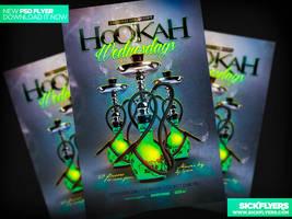 Hookah Flyer PSD by Industrykidz