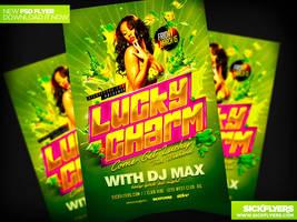Lucky Charm St Patricks Day Flyer by Industrykidz