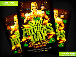 St Patricks Day Drunk Fest Party by Industrykidz