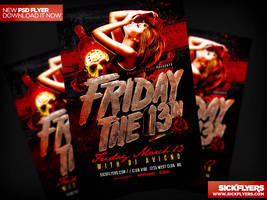 Friday The 13th Flyer by Industrykidz