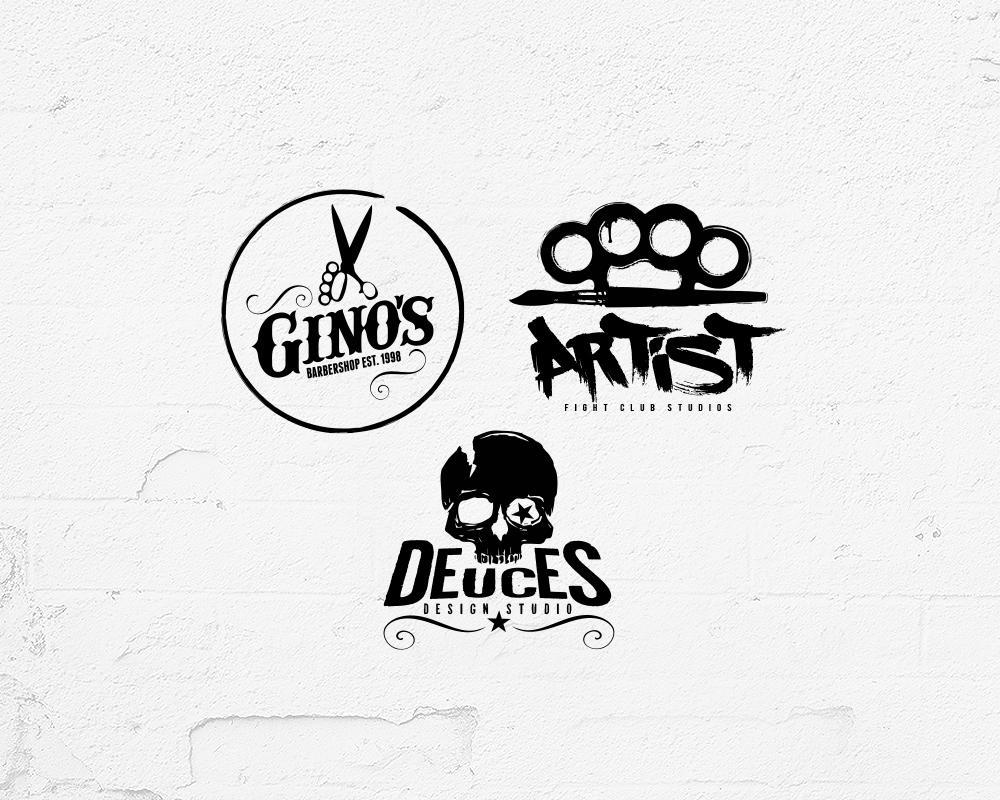 Logo Templates / Barbershop Logo by Industrykidz