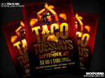 Taco Tueday Flyer PSD by Industrykidz