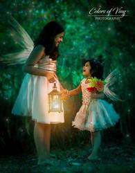 Two little fairies by vinigal123