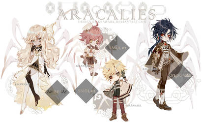 Aracalies Auction+Raffle Sale [closed] by Krawark