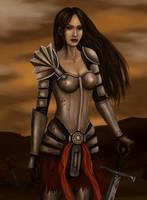 Grey Warden by Aerenwyn
