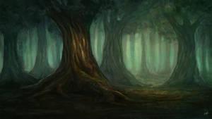 Woods by Aerenwyn