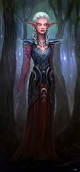 Commission - Kali'dreth by Aerenwyn