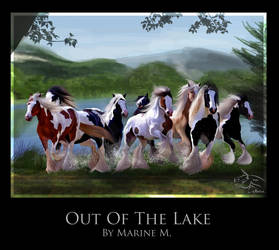 Out of the Lake by QueenOfGoldfishes