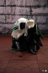 Drizzt Dark Elf Cosplay Costume DragonCon 1 by Pallycard