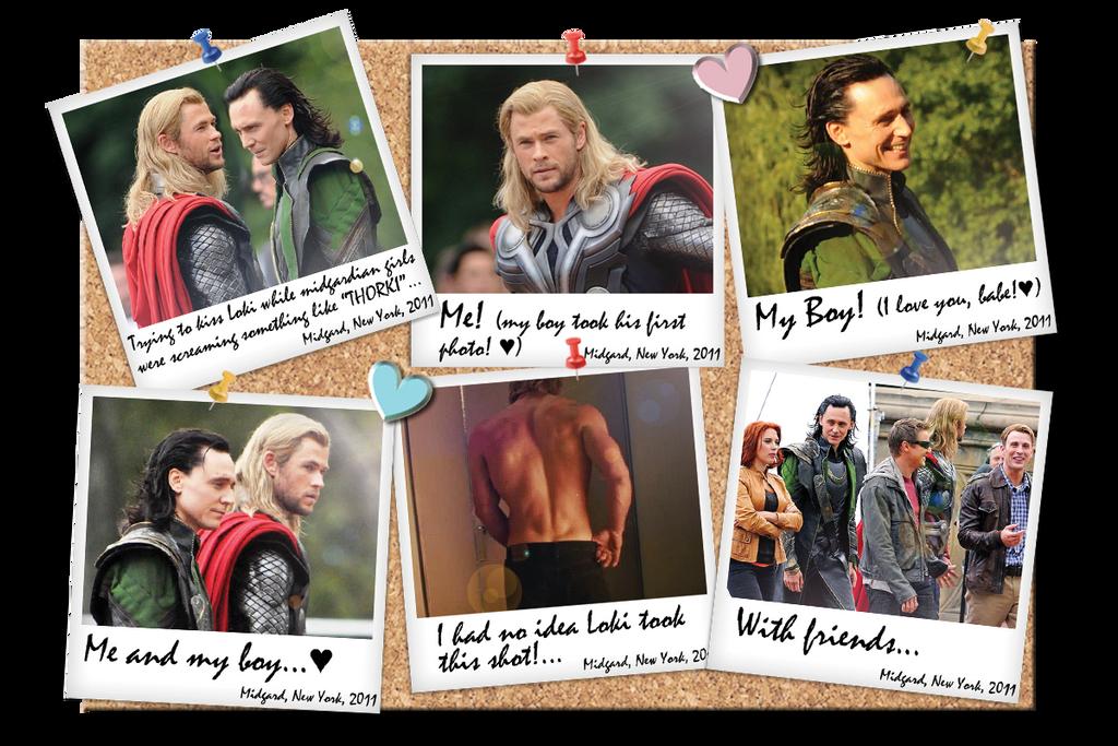 Thor and Loki Noticeboard by RevolutionaryAngel