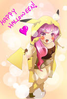 Happy Halloween by suzukipwnstheworld