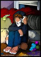 A Desperate Call by o-kemono