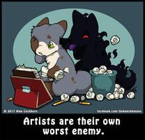 Life's A Chibi: Worst Enemy by o-kemono