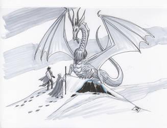 White Dragon by KieronOGorman