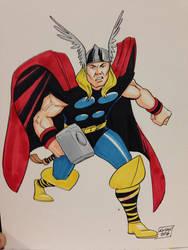 The Mighty Thor by KieronOGorman