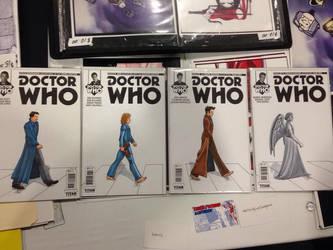Doctor Who abbey Road Con sketch by KieronOGorman