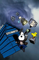 Snoopy Doctor Who by KieronOGorman