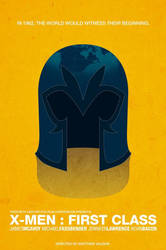 X-men First Class Poster by illmatic1