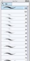 Pencil types CSP brushes by Mangaka-Yoshiaru