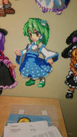 Touhou Character 7 - Sanae Kochiya by MagicPearls